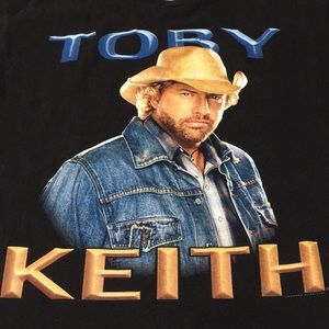 Toby Keith T-shirt L